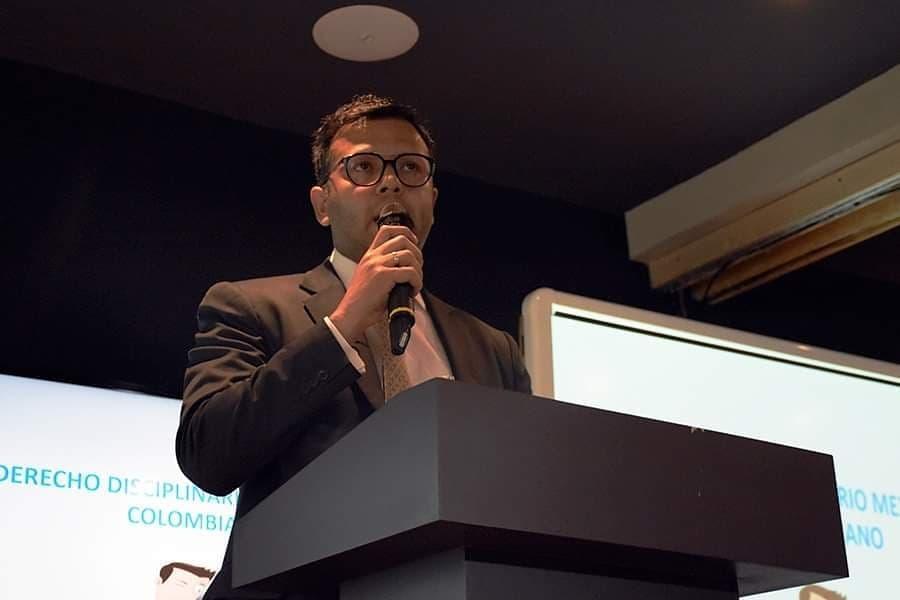 Compartimos algunos momentos de la ponencia del Dr. David Alonso Roa Salguero en el Diplomado en Justicia Administrativa
